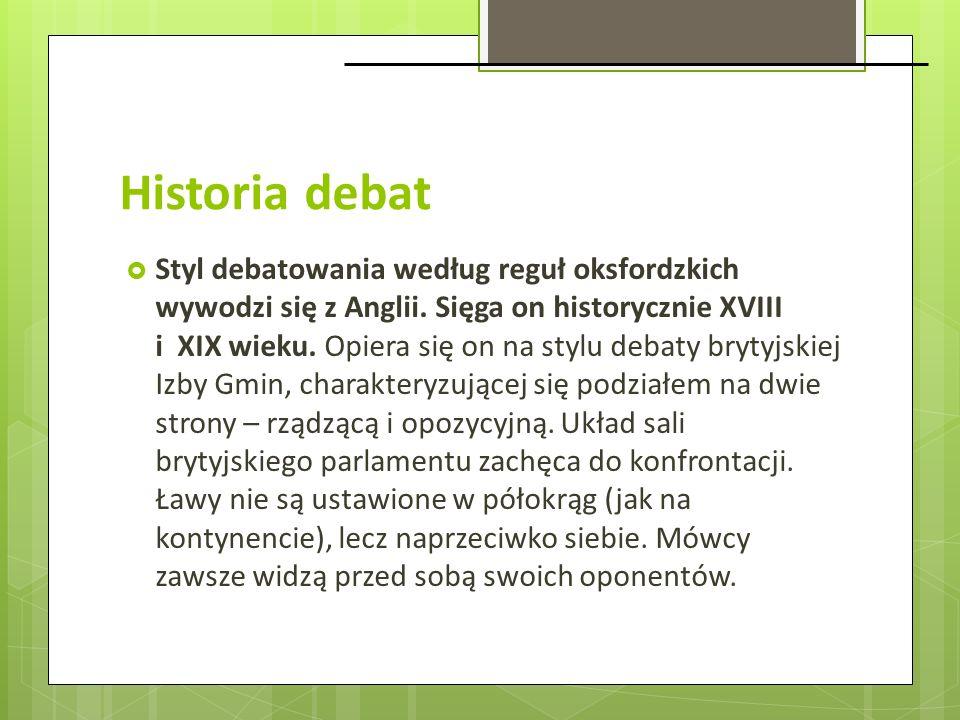 Historia debat
