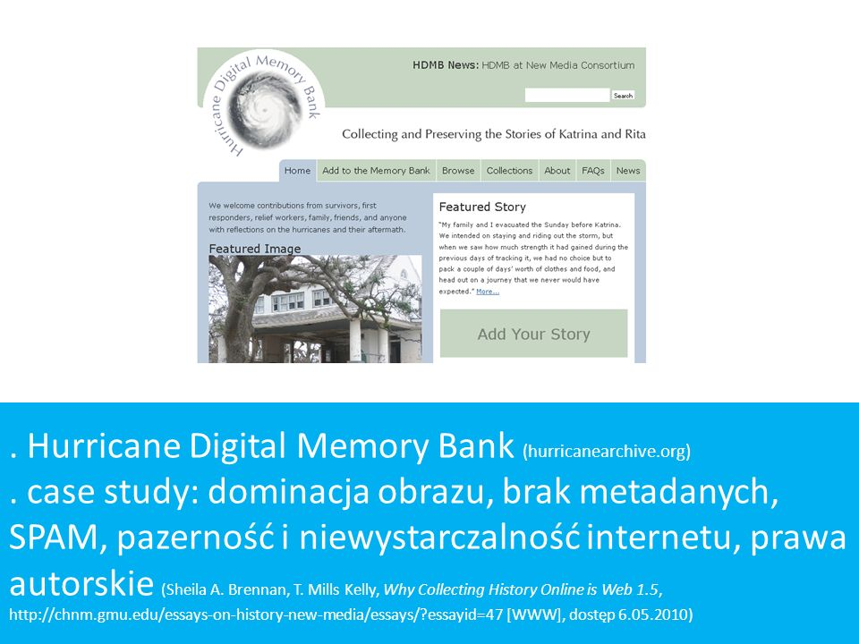 . Hurricane Digital Memory Bank (hurricanearchive.org)