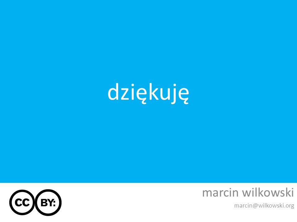 marcin wilkowski marcin@wilkowski.org