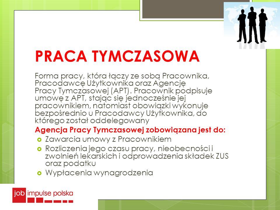PRACA TYMCZASOWA