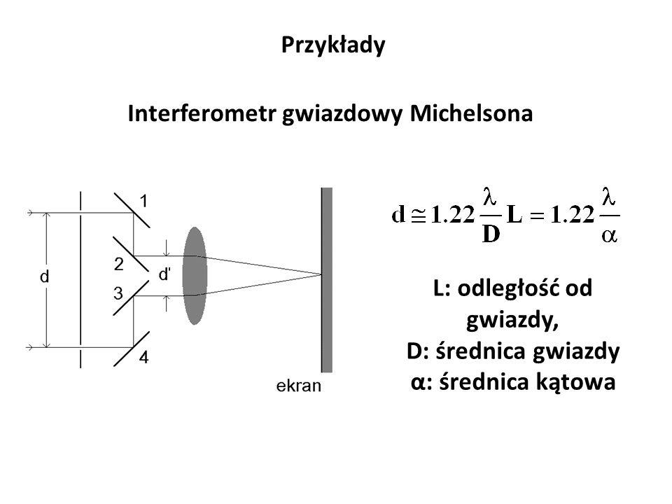 Interferometr gwiazdowy Michelsona