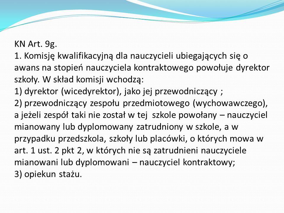 KN Art. 9g. 1.