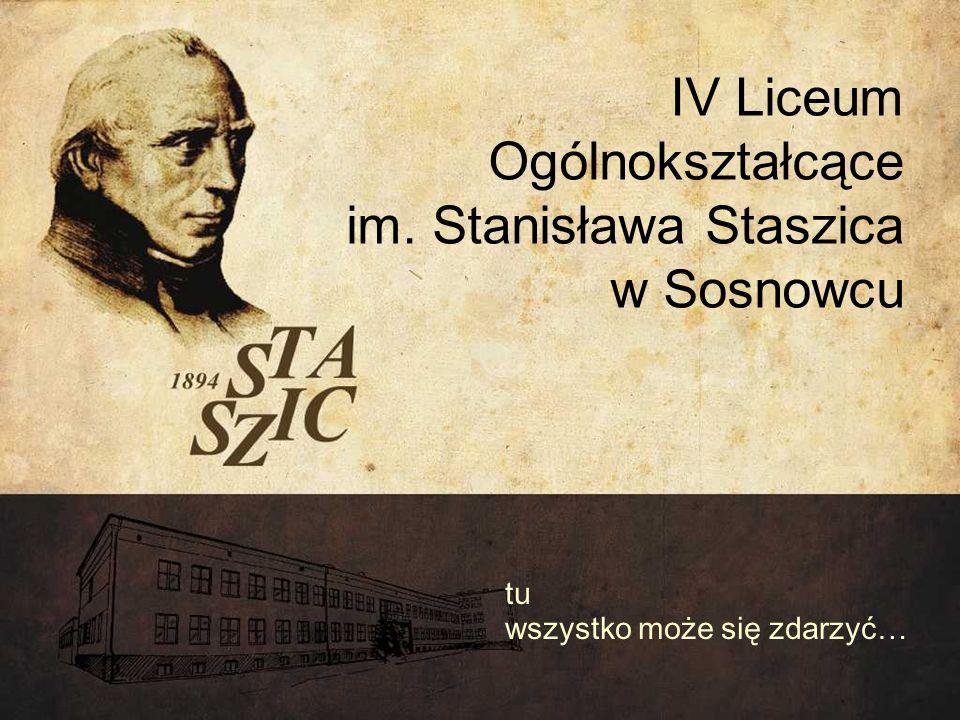 IV Liceum Ogólnokształcące im. Stanisława Staszica w Sosnowcu