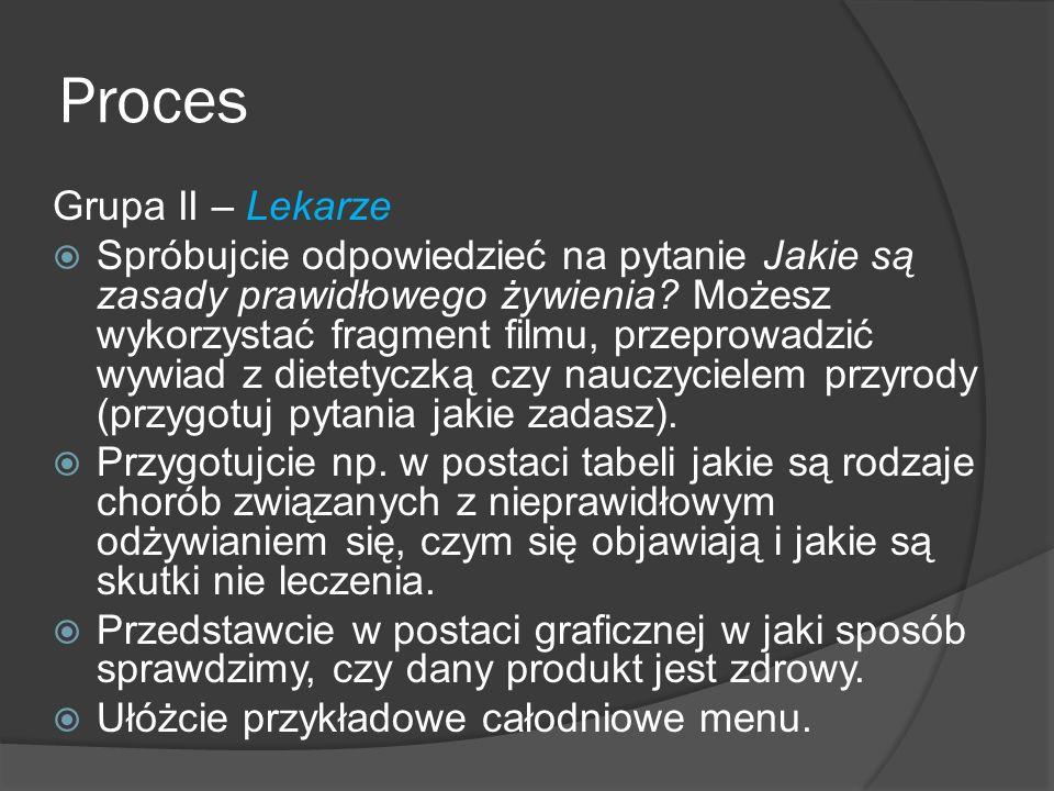 Proces Grupa II – Lekarze