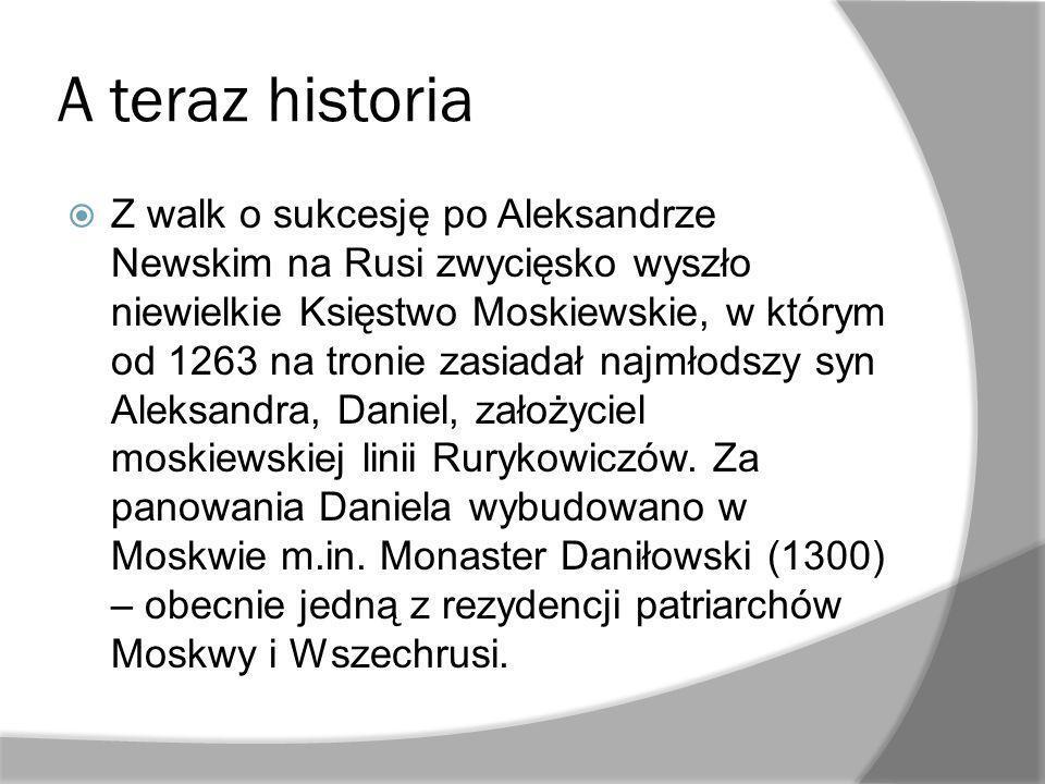 A teraz historia