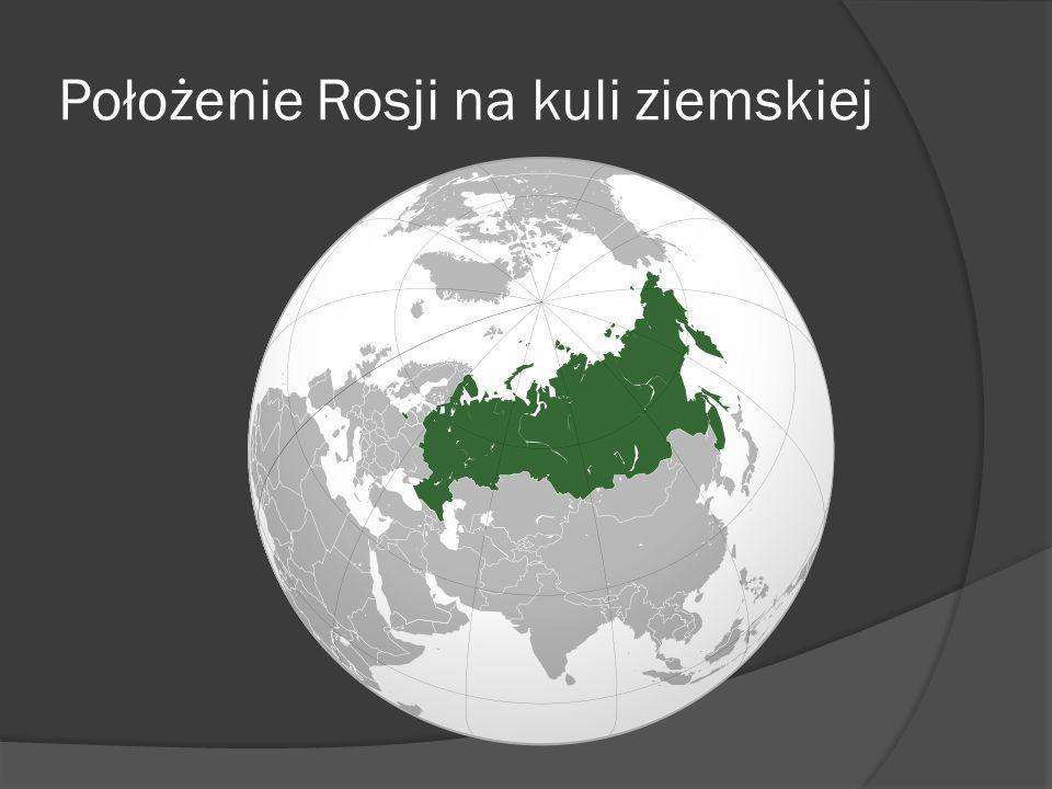 Położenie Rosji na kuli ziemskiej