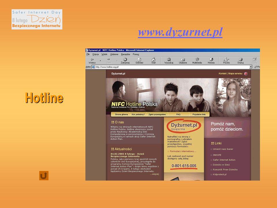 www.dyzurnet.pl Hotline