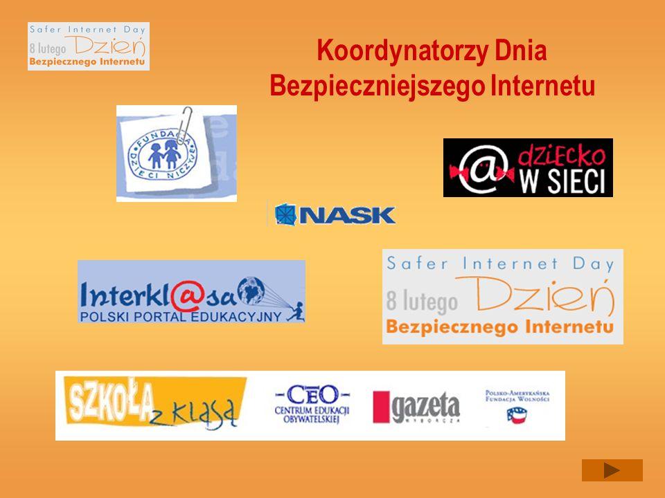 Koordynatorzy Dnia Bezpieczniejszego Internetu