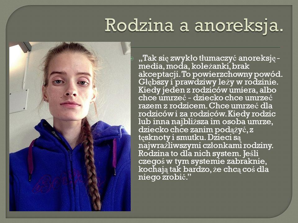 Rodzina a anoreksja.