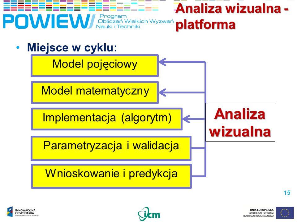 Analiza wizualna - platforma