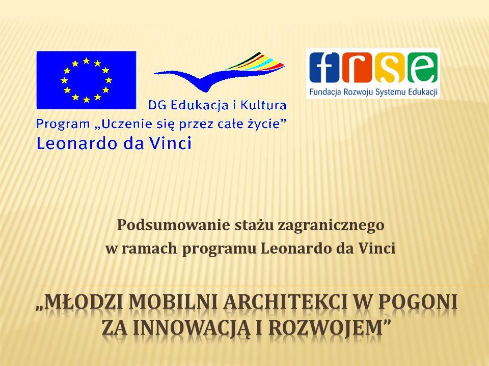 """""""Młodzi mobilni architekci w pogoni za innowacją i rozwojem"""