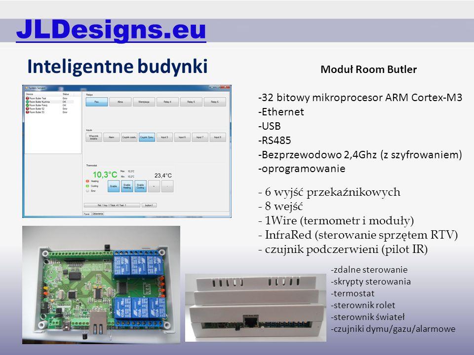 JLDesigns.eu Inteligentne budynki Moduł Room Butler