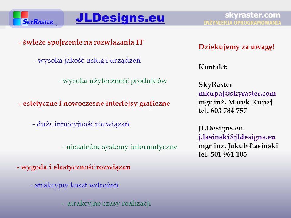 JLDesigns.eu - świeże spojrzenie na rozwiązania IT