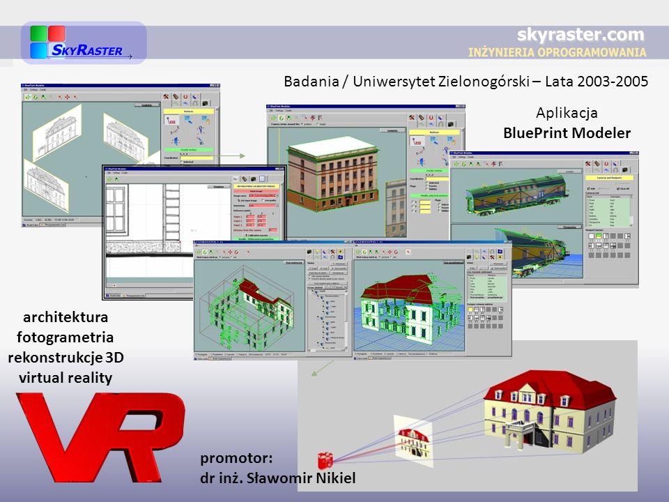 Badania / Uniwersytet Zielonogórski – Lata 2003-2005