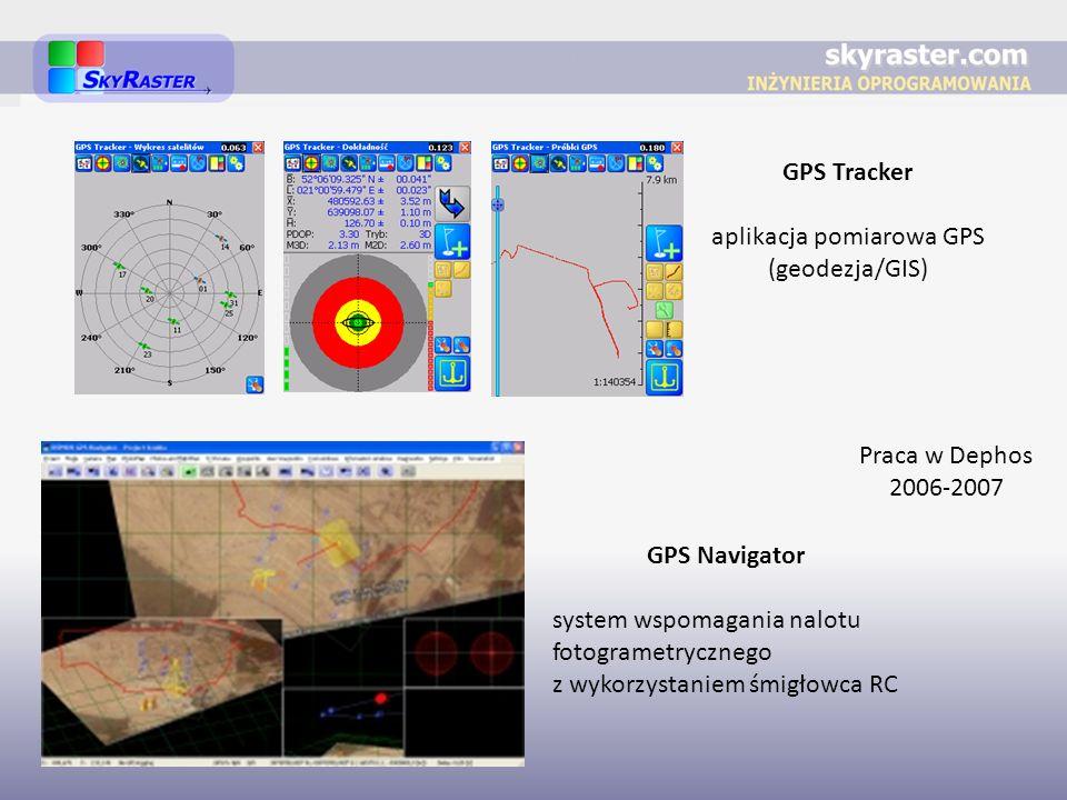 aplikacja pomiarowa GPS