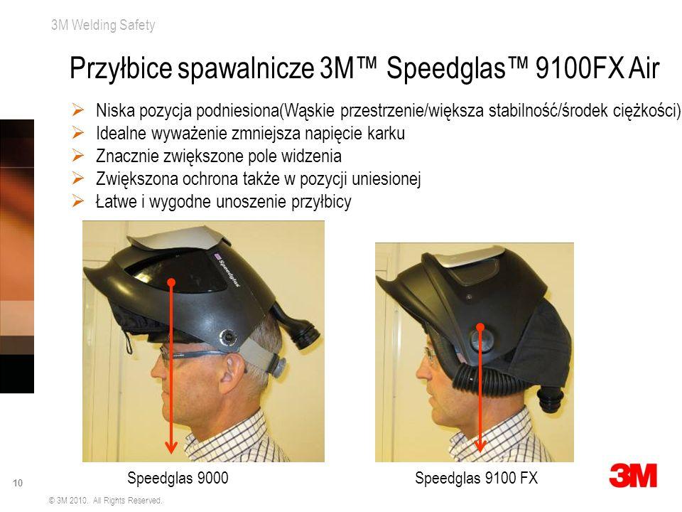 Przyłbice spawalnicze 3M™ Speedglas™ 9100FX Air