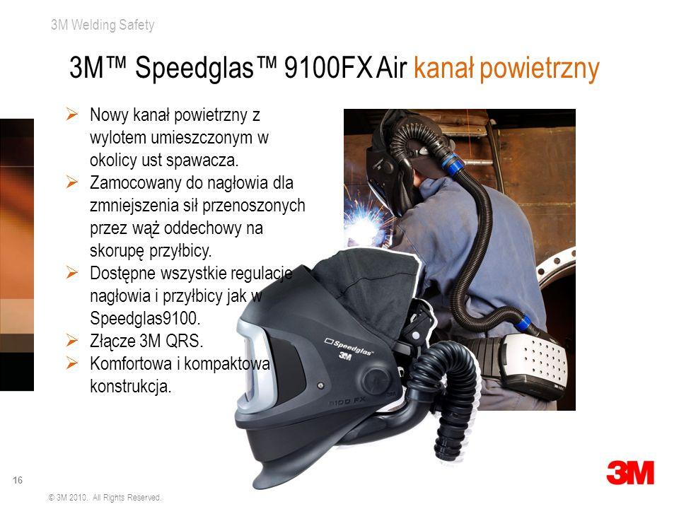 3M™ Speedglas™ 9100FX Air kanał powietrzny
