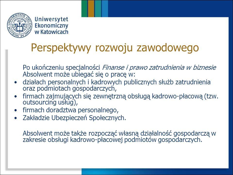 Perspektywy rozwoju zawodowego