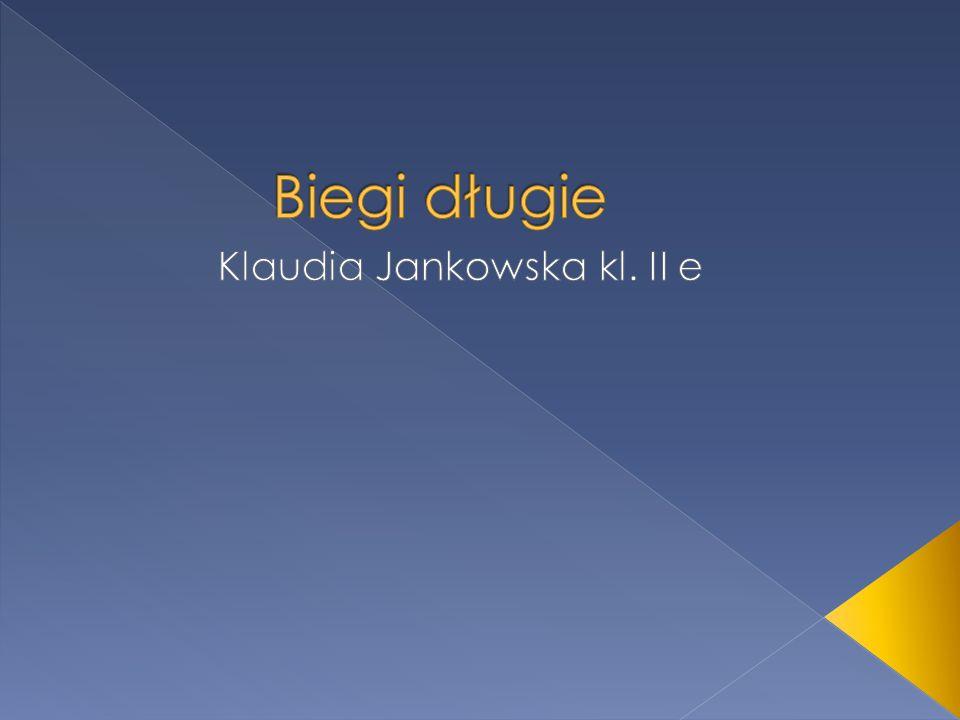 Klaudia Jankowska kl. II e