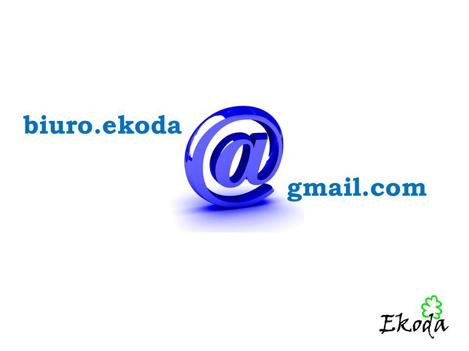biuro.ekoda gmail.com