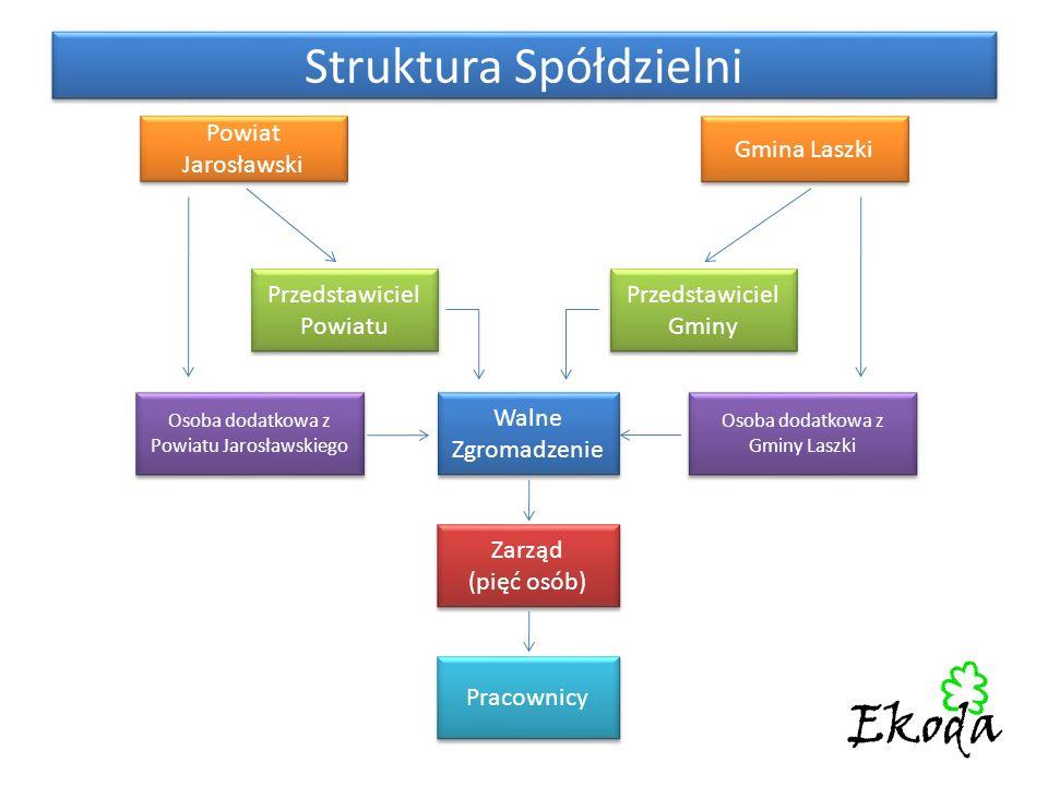 Struktura Spółdzielni