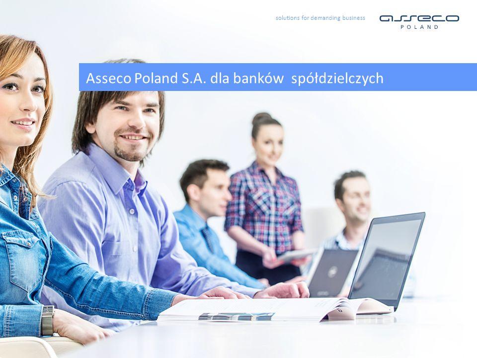 Asseco Poland S.A. dla banków spółdzielczych