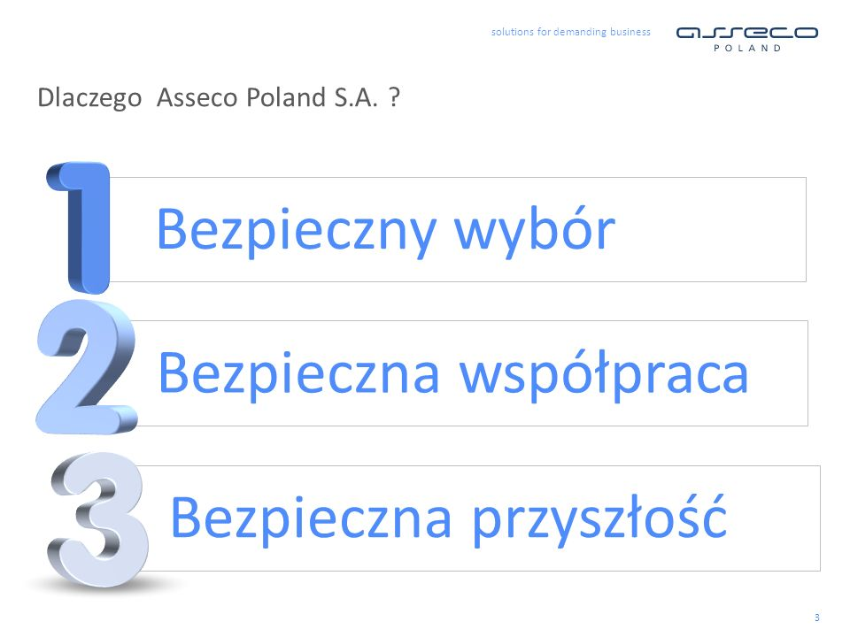 Dlaczego Asseco Poland S.A.