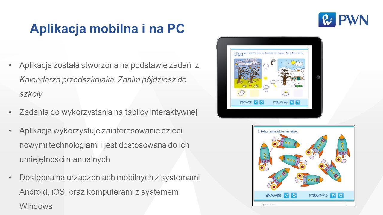 Aplikacja mobilna i na PC