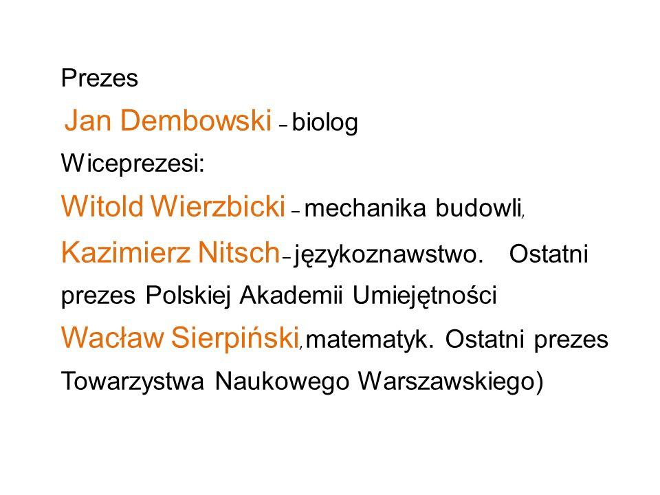 Witold Wierzbicki – mechanika budowli,