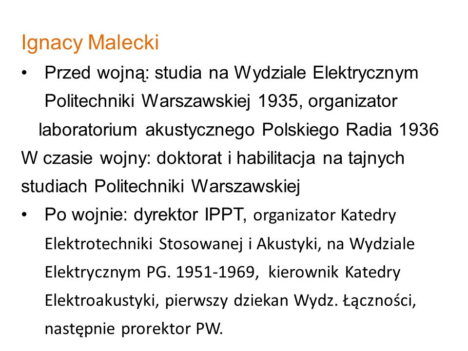 laboratorium akustycznego Polskiego Radia 1936