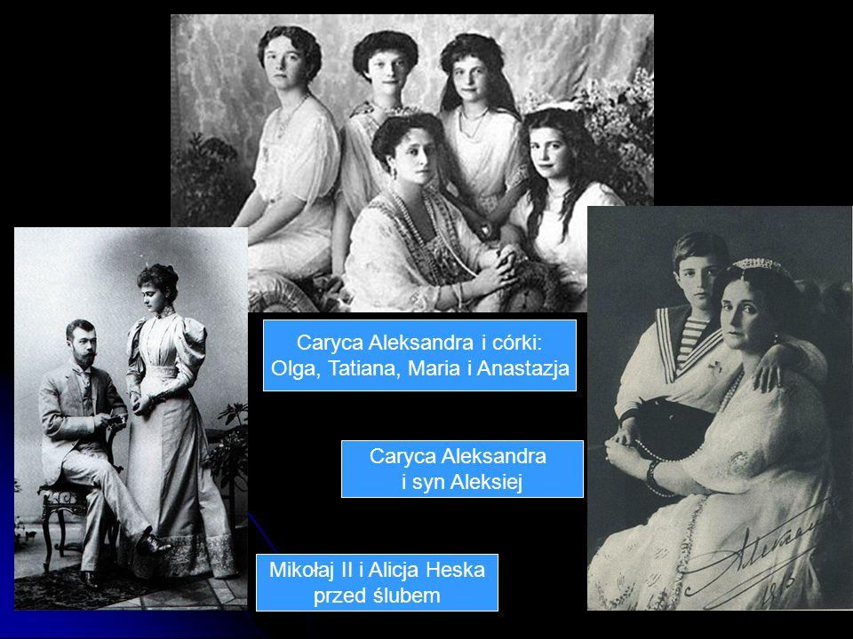 Caryca Aleksandra i córki: Olga, Tatiana, Maria i Anastazja