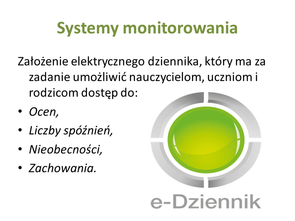 Systemy monitorowania