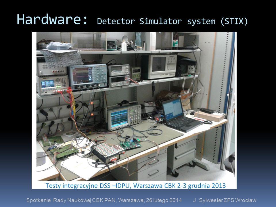 Hardware: Detector Simulator system (STIX)