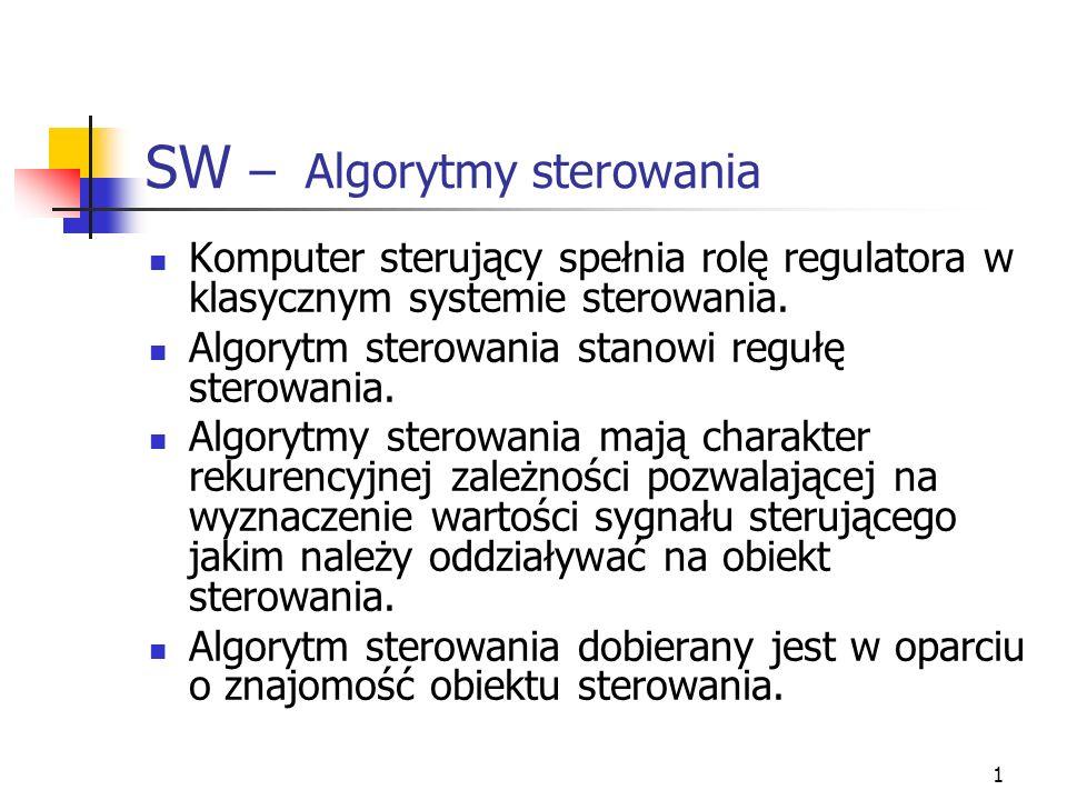 SW – Algorytmy sterowania