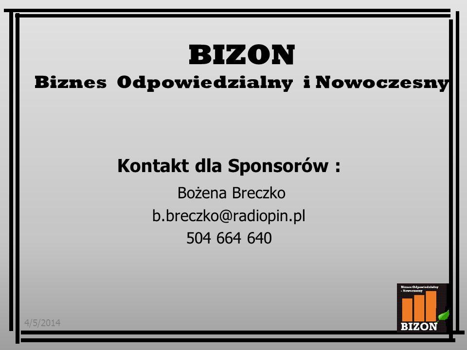 Kontakt dla Sponsorów :