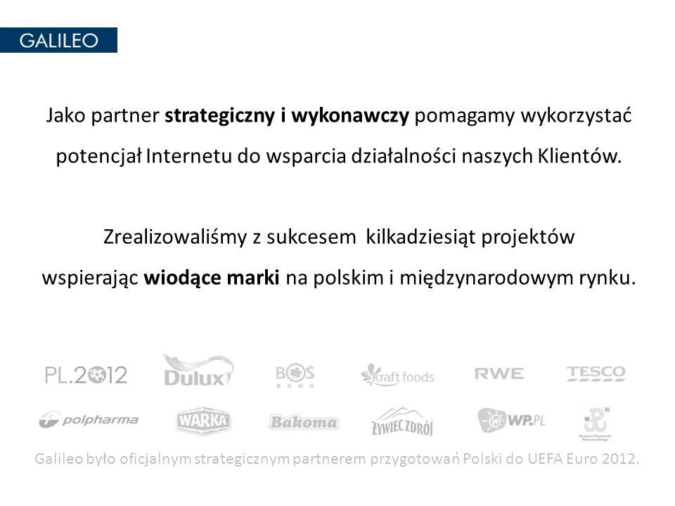 Jako partner strategiczny i wykonawczy pomagamy wykorzystać potencjał Internetu do wsparcia działalności naszych Klientów. Zrealizowaliśmy z sukcesem kilkadziesiąt projektów wspierając wiodące marki na polskim i międzynarodowym rynku.