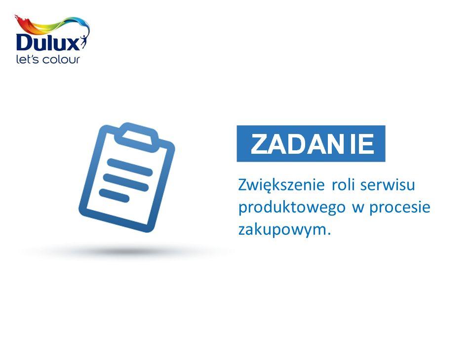 Zwiększenie roli serwisu produktowego w procesie zakupowym.