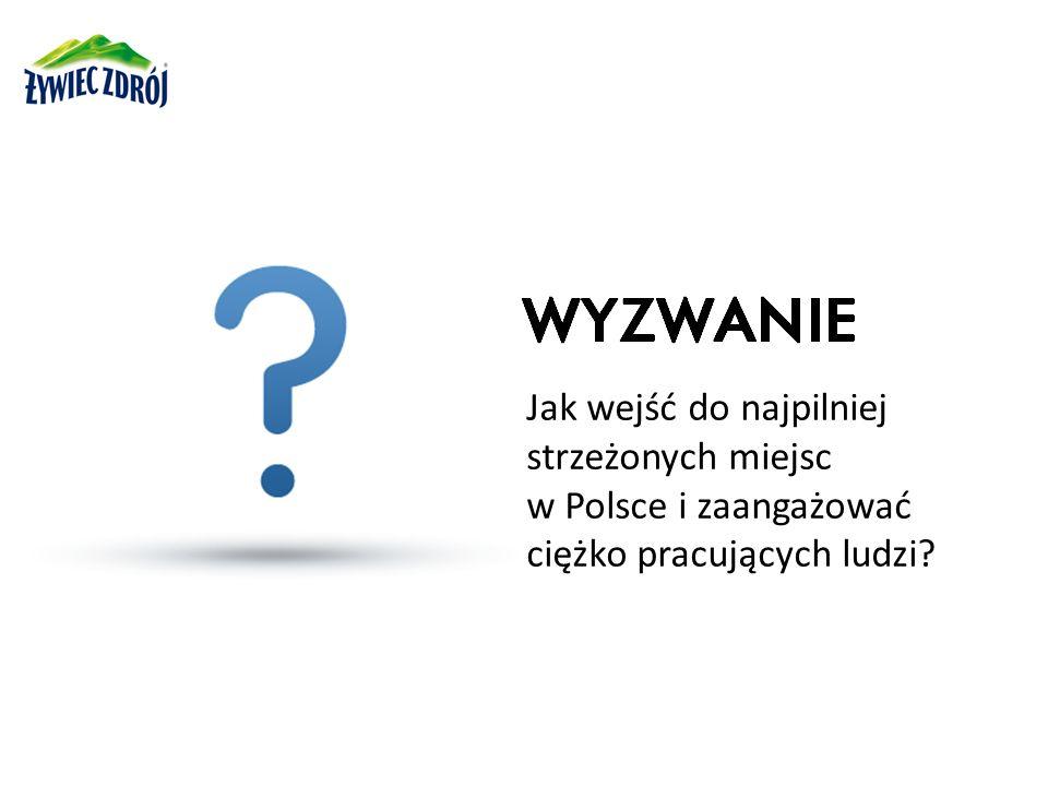 Jak wejść do najpilniej strzeżonych miejsc w Polsce i zaangażować ciężko pracujących ludzi