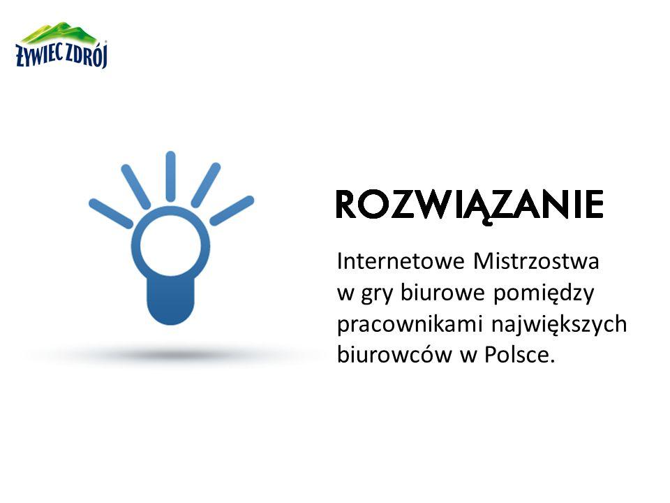 Internetowe Mistrzostwa w gry biurowe pomiędzy pracownikami największych biurowców w Polsce.