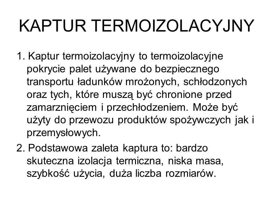 KAPTUR TERMOIZOLACYJNY