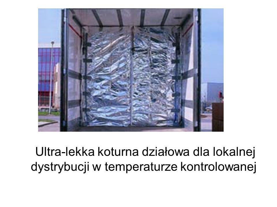 Ultra-lekka koturna działowa dla lokalnej dystrybucji w temperaturze kontrolowanej