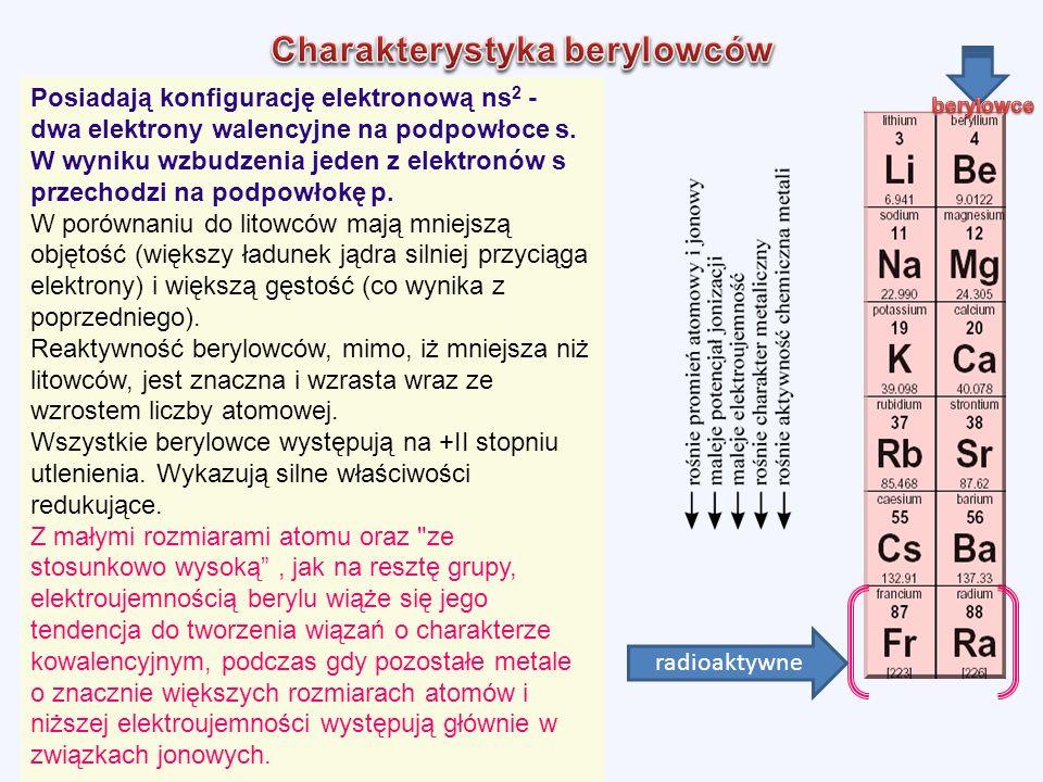 Charakterystyka berylowców