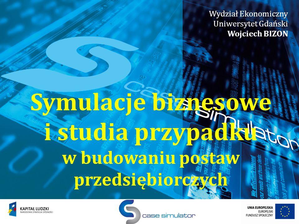 Wydział Ekonomiczny Uniwersytet Gdański. Wojciech BIZON.