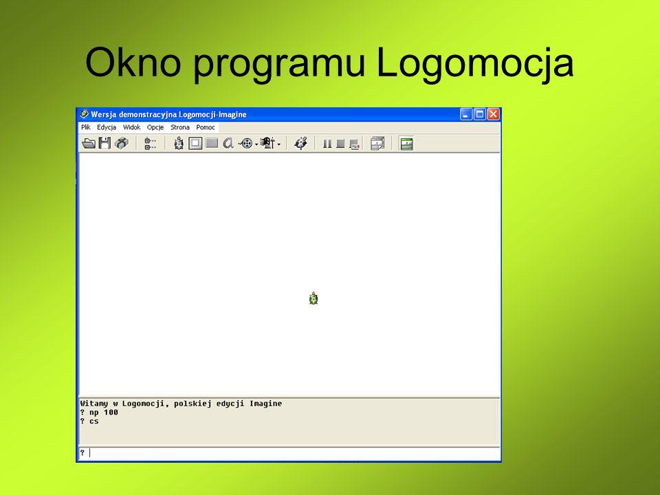 Okno programu Logomocja