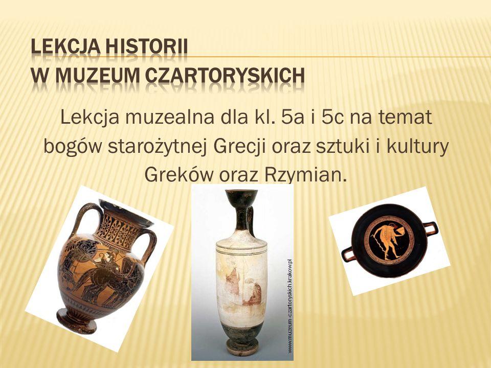 Lekcja historii w Muzeum Czartoryskich