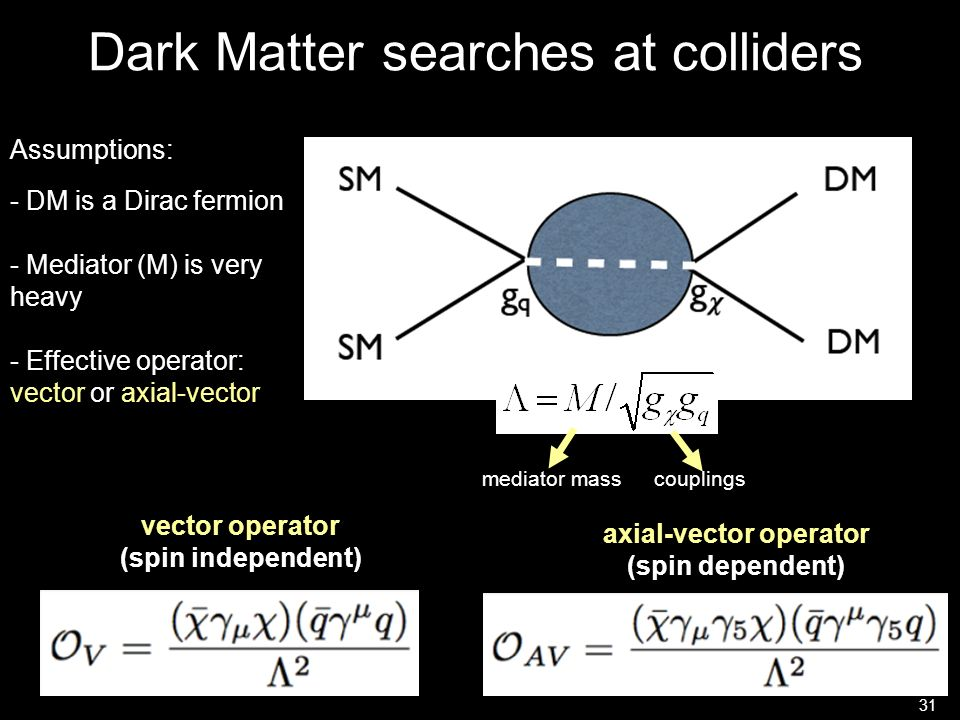 Dark Matter searches at colliders