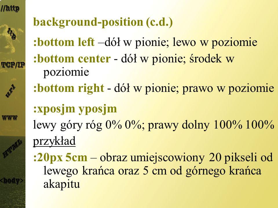 background-position (c.d.)