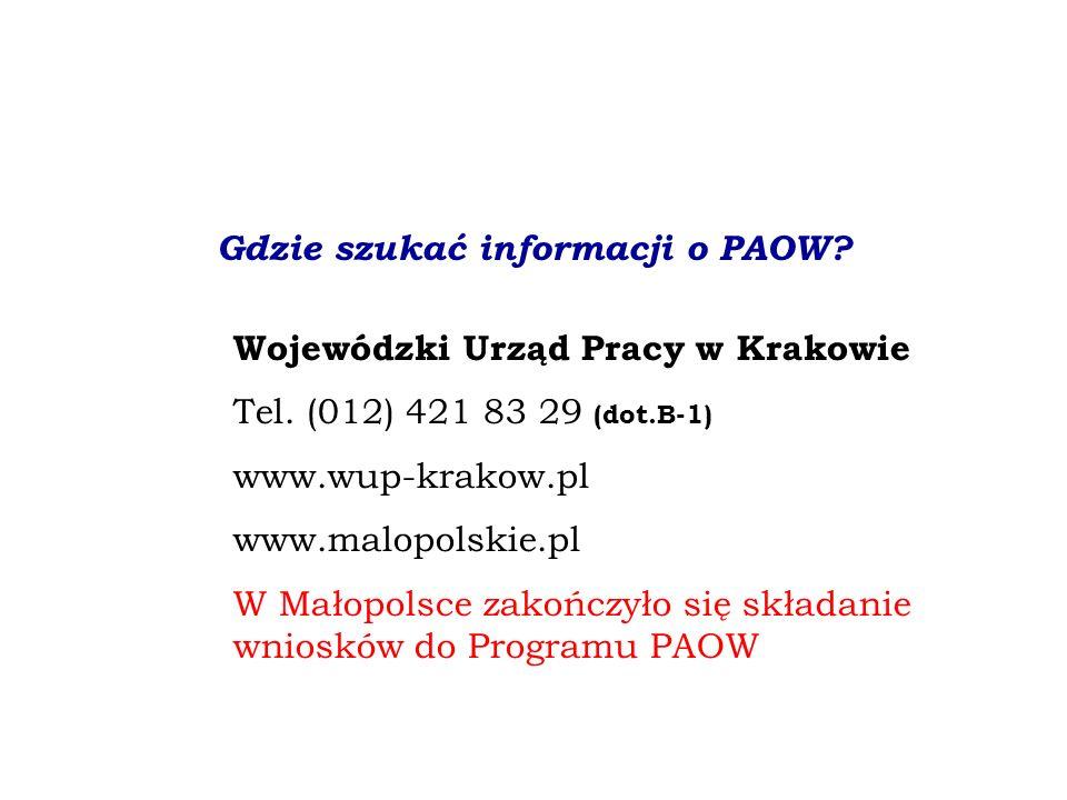 Gdzie szukać informacji o PAOW