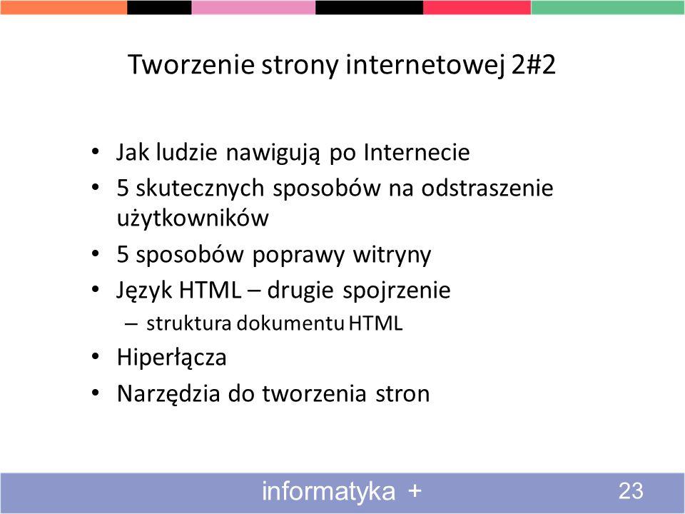 Tworzenie strony internetowej 2#2