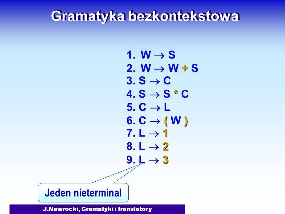 Gramatyka bezkontekstowa